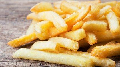 Las papas fritas son un componente favorito de la dieta occidental (iStock)