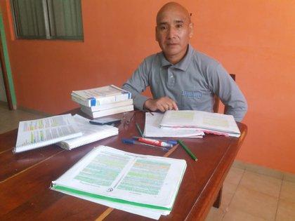 A sus 54 años, Marcelo se recibió de abogado