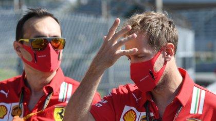Sebastian Vettel no tuvo una buena temporada con Ferrari (Foto: Reuters)
