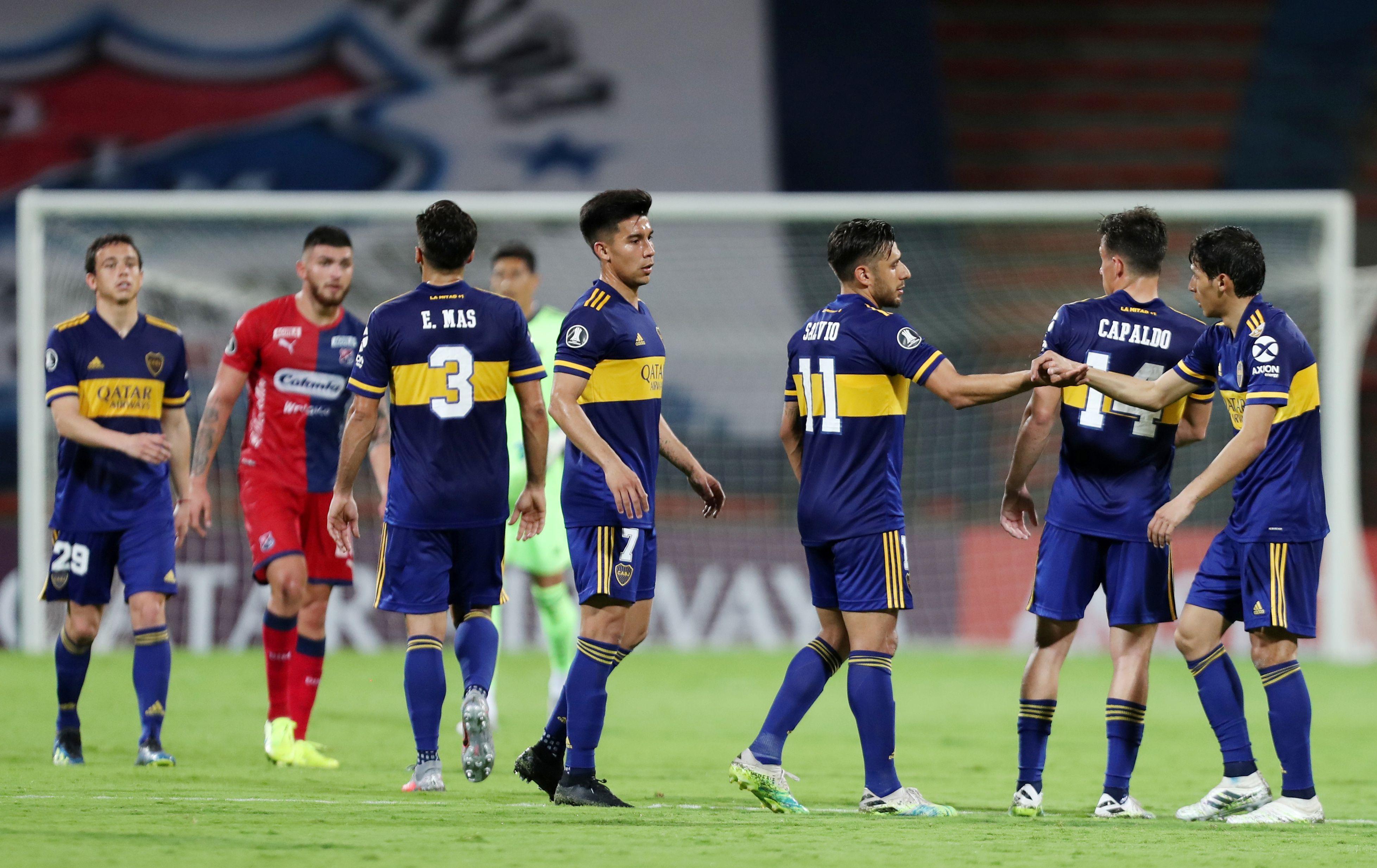 Boca es líder del Grupo H a falta de dos fechas para el final de la fase de grupos de la Copa Libertadores (Fernando Vergara/Pool via REUTERS)