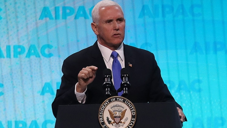 Mike Pence, vicepresidente de Estados Unidos (AFP)