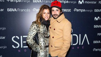Eugenia Tobal y su novio, Francisco García Ibar