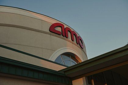 An AMC theater in Council Bluffs, Iowa, U.S., on Thursday, October 15, 2020. Photographer: Dan Brouillette/Bloomberg