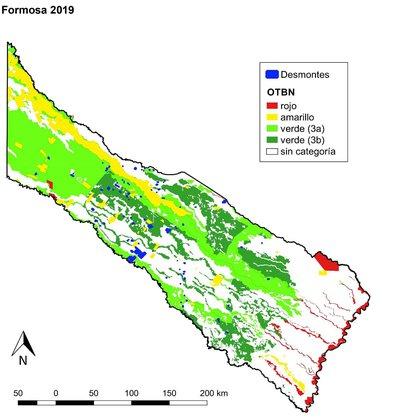 Deforestación en Formosa (Greenpeace)