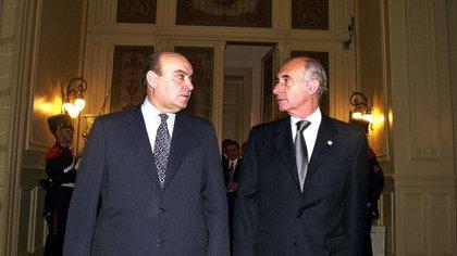 Domingo Cavallo y Fernando de la Rúa (NA)