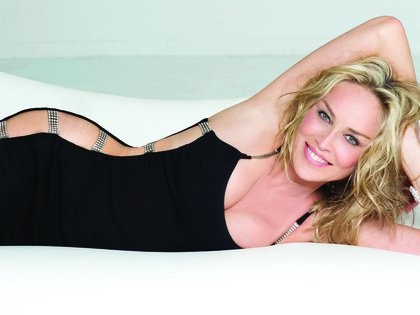 Photo©2012: Coleman Rayner/The Grosby Group EXCLUSIVE Los Angeles, September 13, 2013  In these arresting new photographs, screen siren Sharon Stone, 55, is the picture of enduring glamour. The Hollywood icon reveals in a candid interview that by treating her body with respect and bravely venturing into new territory, she's back in the public eye with choice film roles and a high-end home line. And then there's her sex life.  CR