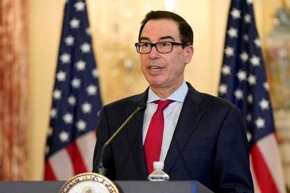 El secretario del Tesoro Steven Mnuchin (Patrick Semansky/REUTERS)