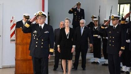 Director de Educación Naval CL Fernando Maglione (Gaceta Marinera)