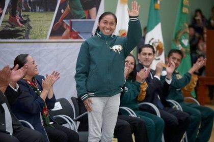 Lupita González ganó medalla de plata en los Juegos Olímpicos de Río de Janeiro 2016 (Foto: Cuartoscuro)