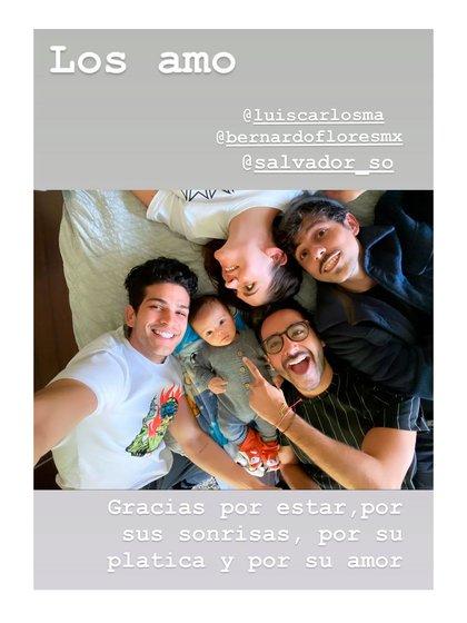 En sus historias, agradeció el apoyo de sus amigos (Foto: Instagram @zoraidagomezmx)
