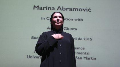 "Marina Abramovic,  la reina de la ""performance"", ganó el Premio Princesa Asturias de las Artes"