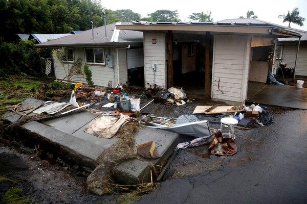 La tormenta Lane se cobró la primera víctima en Hawai