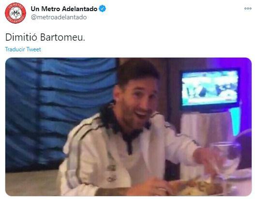 Memes renuncia Bartomeu