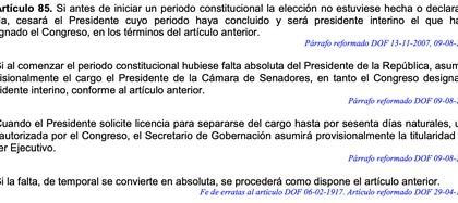 (Foto: captura de pantalla Constitución Política de México)