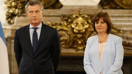 El primer capítulo del libro narra el momento en que Mauricio Macri le propone a Patricia Bullrich ser su ministra de Seguridad (Getty)