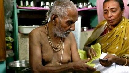 Swami Sivananda tiene 120 años y las claves para su longevidad (The Grosby Group)