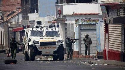 Fuerzas de seguridad de Venezuela (REUTERS/Andres Martinez Casares)