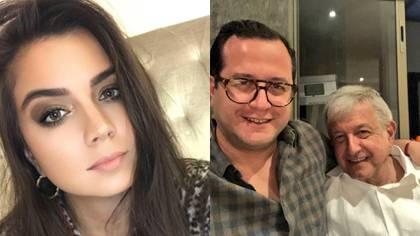 Carolyn Adams, nuera de AMLO, sería motivo de distanciamiento entre el presidente y su primogénito José Ramón (Foto: Facebook y Twitter)