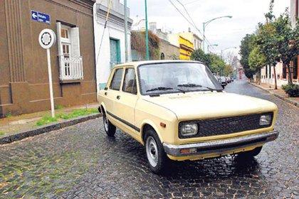 Al Fiat 128 lo vendió en 1984.