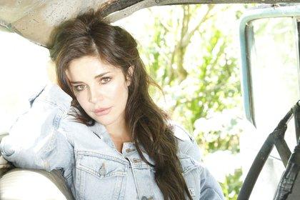 Flora Martínez, Colombian actress and singer. Photo: Colprensa