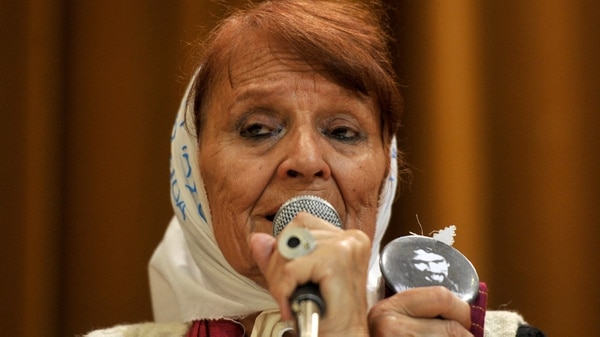 Taty Almedia, Madres de Plaza de Mayo Línea Fundadora (Télam)