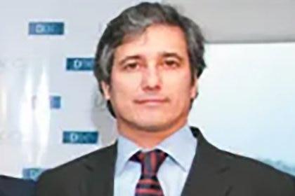 Marcelo Ramos hace algunos años, en Uruguay, donde su firma suiza Helvetic Services Group abrió registró una filial.