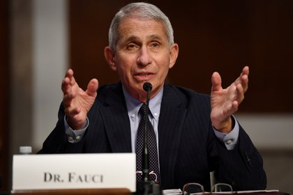El principal epidemiólogo de la Casa Blanca, Anthony Fauci. Foto: Kevin Dietsch/ REUTERS