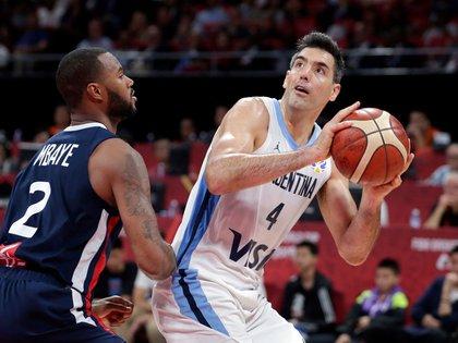 Luis Scola hizo historia en el Mundial de China (Reuters)