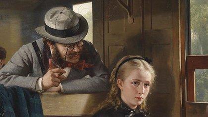 """La belleza del día: """"El caballero molesto"""", de Berthold Woltze"""