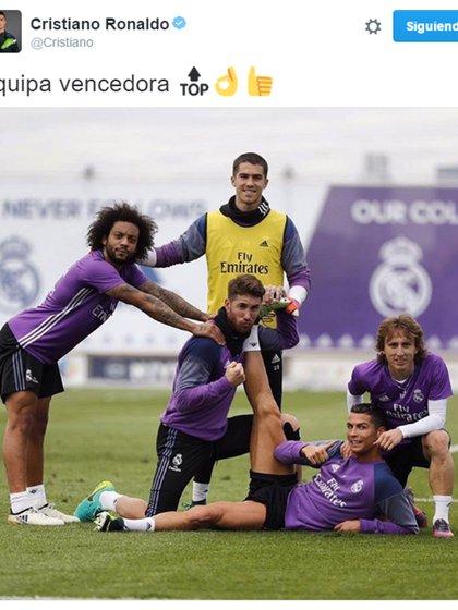 La foto de Cristiano Ronaldo que molestó a sus fans en Twitter