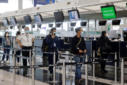 Hong Kong International Airport.  Reuters / Tyrone Seo