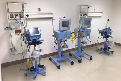 El uso de este equipamiento médico es vital para los casos graves de COVID-19 (Foto: Twitter @adan_augusto)