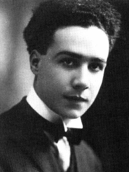 Poeta: Leopoldo Marechal, de joven