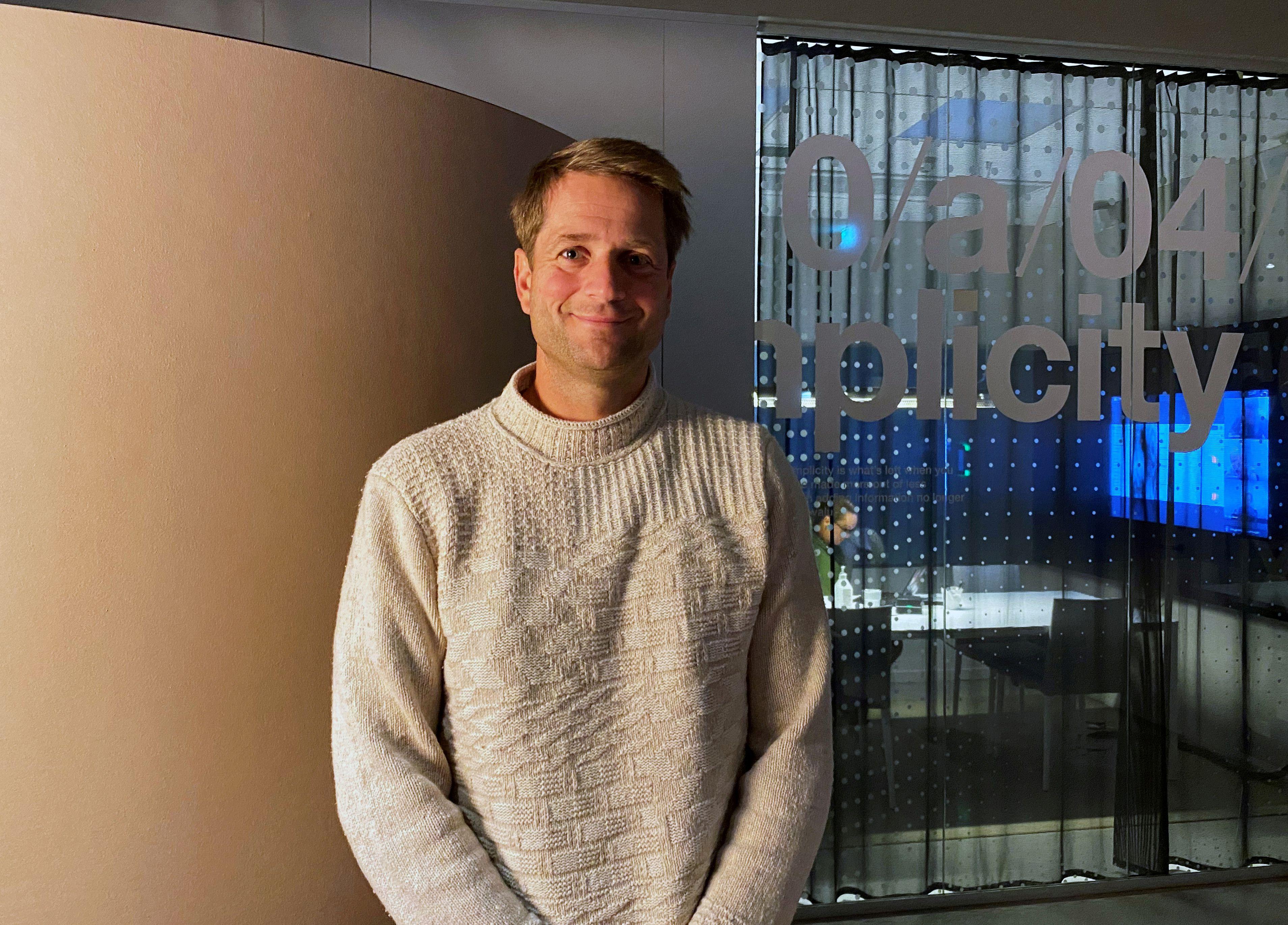 Sebastian Siemiatkowski,. fundador y CEO de Klarna, una de las diez más grandes fintech de Europa, en su oficina en Estocolmo REUTERS/Supantha Mukherjee/File Photo