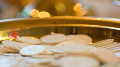 Hostias, el alimento de la Eucaristía (Archivo)