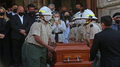 Aristóteles Sandoval fue despedido el sábado 19 de diciembre tras un homenaje en Palacio de Gobierno (Foto: Cuartoscuro)