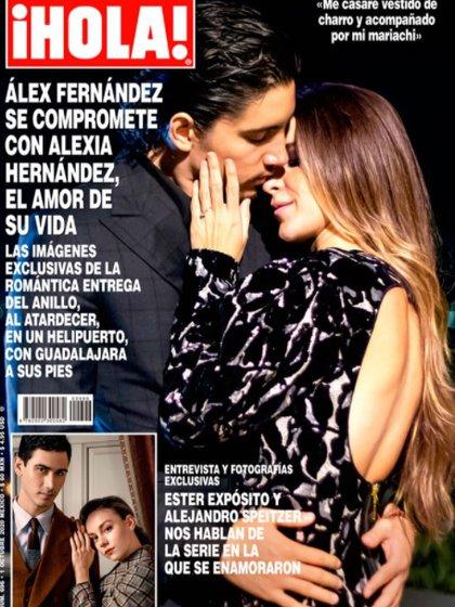 """Alex y Alexia posaron para la revista """"¡Hola!"""""""