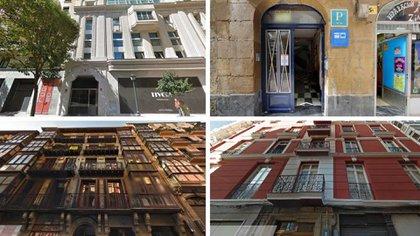 Estas son las propiedades de Javier Duarte Madrid y Bilbao, que incluyen un hotel.