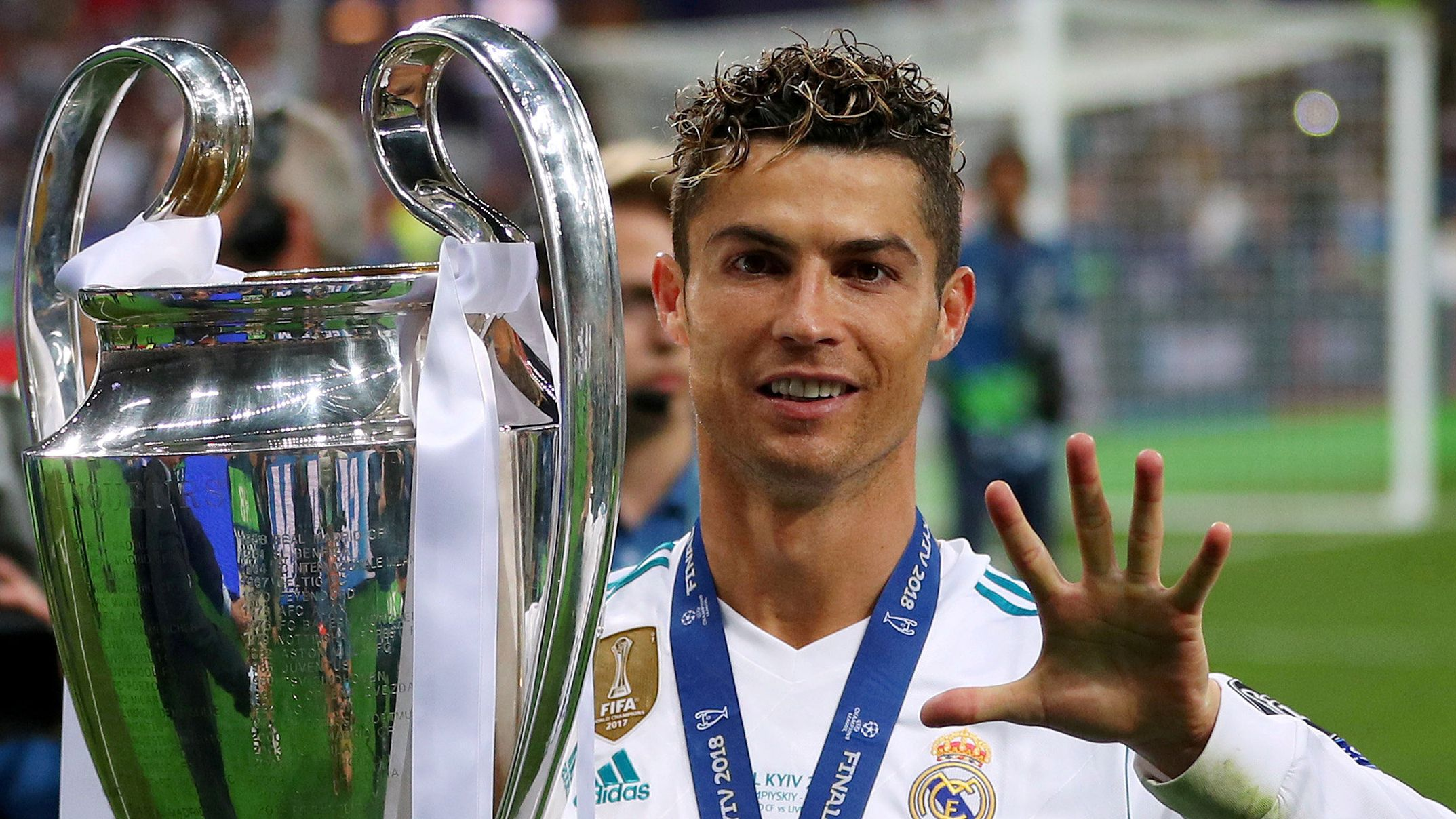 Cristiano Ronaldo y los guiños al Real Madrid que dispararon los rumores de regreso (REUTERS/Hannah McKay/File Photo)