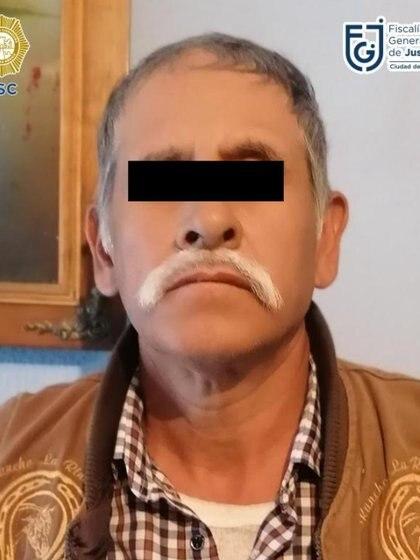 El hombre de 52 años ya tenía registros de haber estado en la cárcel en dos ocasiones por delitos contra la salud Foto: (Fiscalía CDMX)