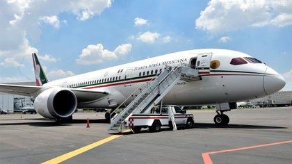 Esta aeronave fue adquirida por el Presidente Felipe Calderón y fue usada por Peña Nieto durante su sexenio, entre 2012 y 2018 (Foto: Cuartoscuro)
