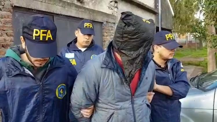 2019: la primera detención de A. en Moreno, tras ser acusado de violar a su hijastra.
