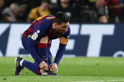En Barcelona empieza a tomar fuerza un rumor: ¿Messi se queda? (REUTERS/Sergio Perez)