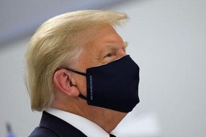 El presidente de Estados Unidos, Donald Trump (REUTERS / Carlos Barria)