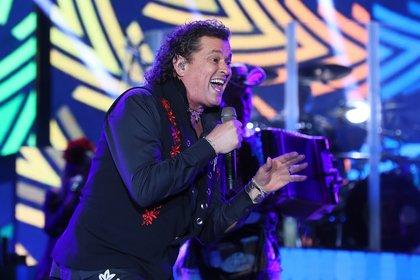 En la imagen, el cantante colombiano Carlos Vives. EFE/Mauricio Dueñas Castañeda/Archivo