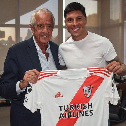 El mendocino ha ganado cinco títulos con la camiseta del Millonario (Foto: River Plate)