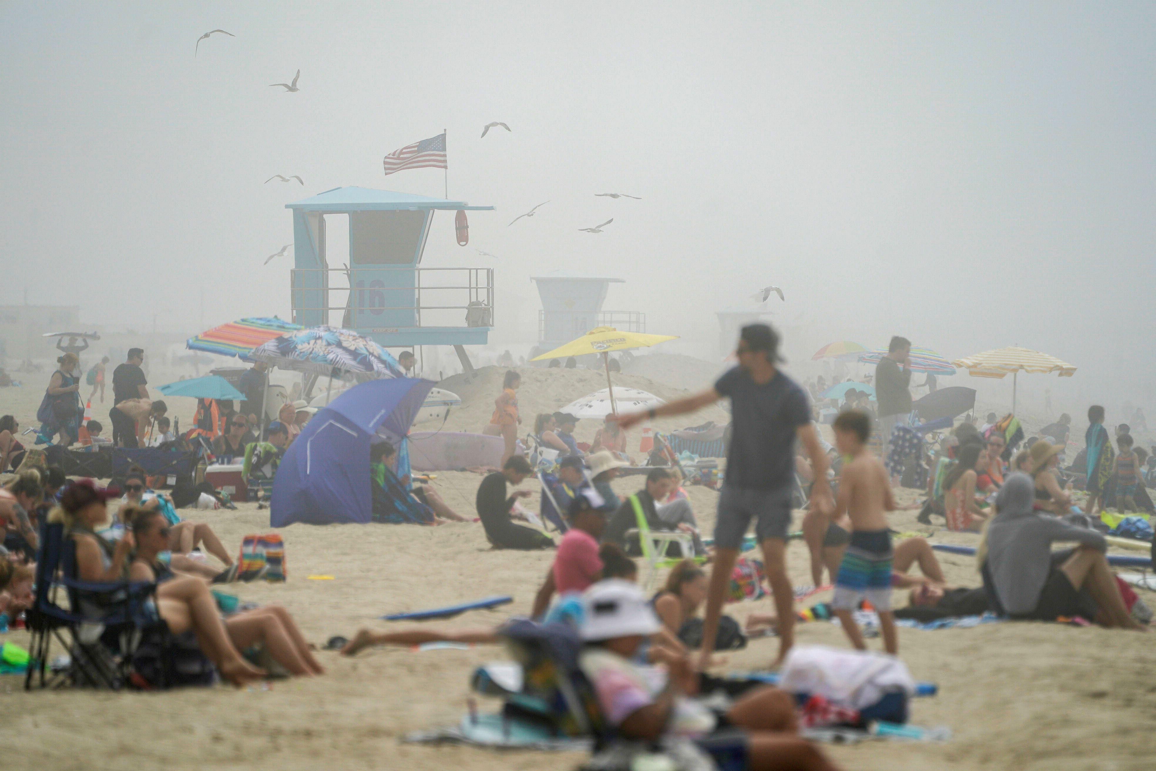Huntington Beach, California, el 25 de abril (Foto: REUTERS/Kyle Grillot)