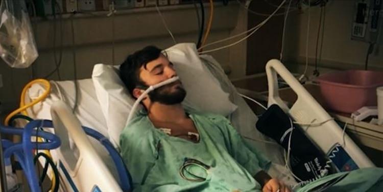 En Estados Unidos tomó repercusión el caso de Adam Hergenreder, de 18 años, quien usó cigarrillos electrónicos por más de un año y medio. Según sus médicos sus pulmones son similares a los de una persona de 70 años (Foto: captura de pantalla)