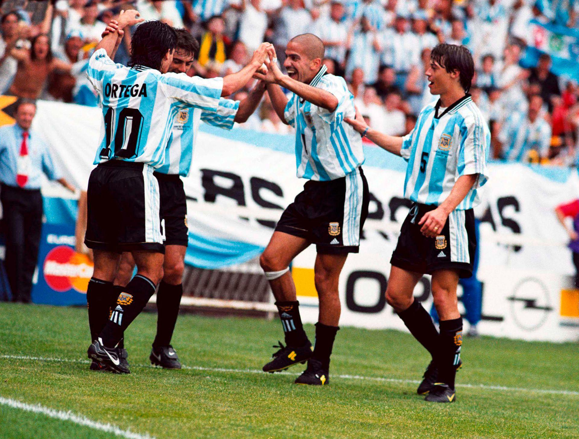 argentina mundial francia 98 1