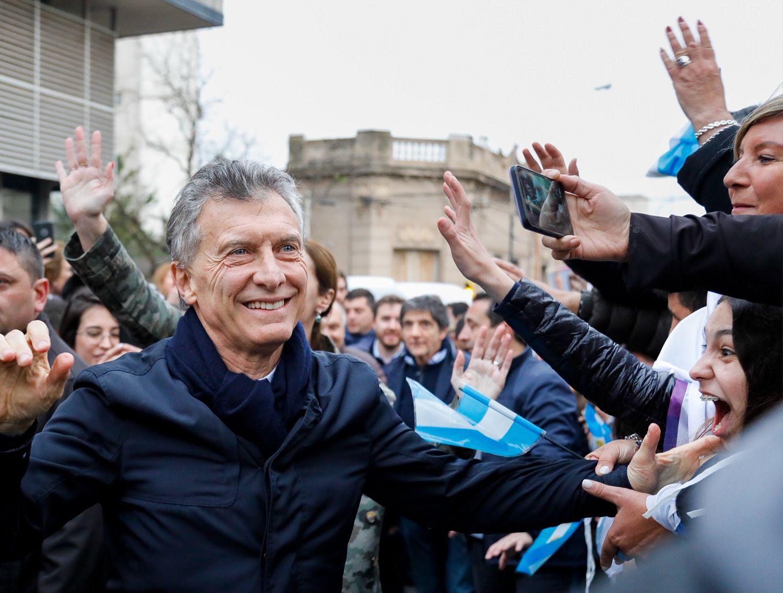 """Macri vuelva a la provincia de Córdoba con el """"Sí, se puede"""" (foto: Estudio Sisso Chouela)"""